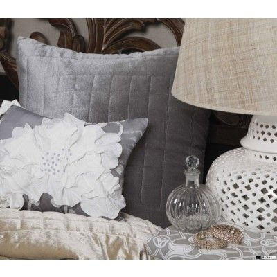 Spotted Floral Brunch Cushions by Florence Broadhurst