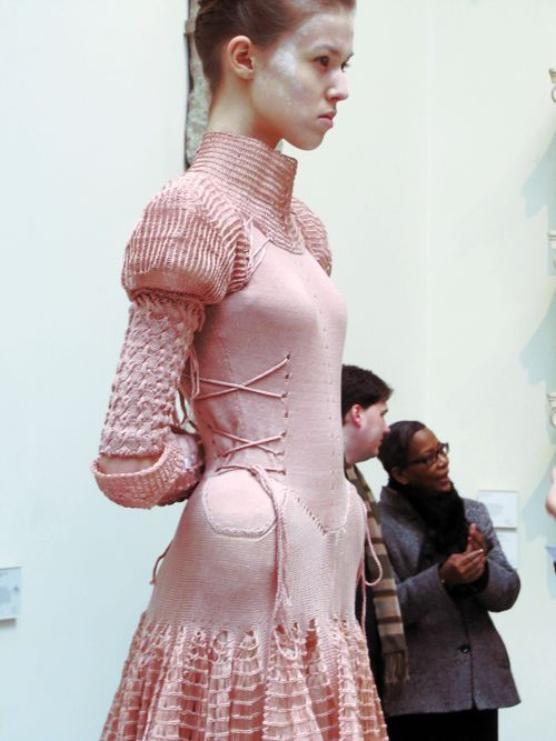 Juliana Sissons show at the Victoria and Albert. This is my favorite look from the collection.