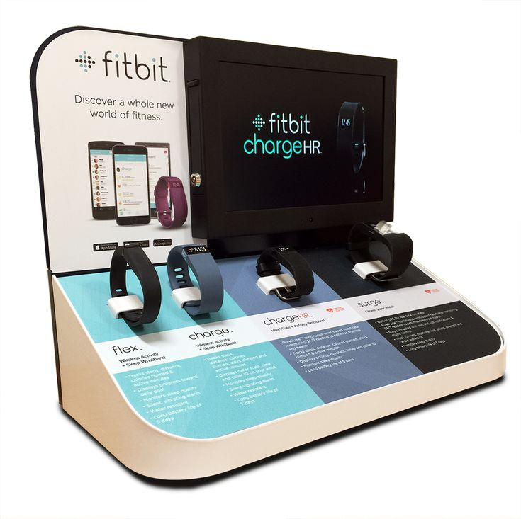 Finished FitBit Retail Display Unit