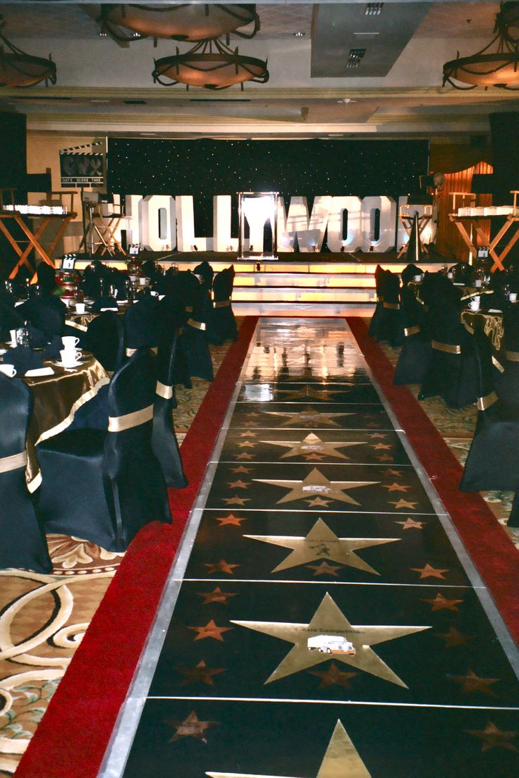 Hollywood Themed Staging Stage Design Pinterest