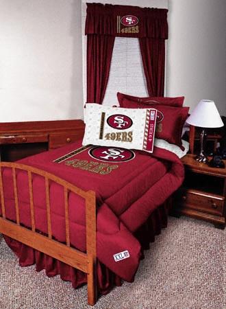 49er themed bedroom furniture bedroom and livinroom for 49ers room decor