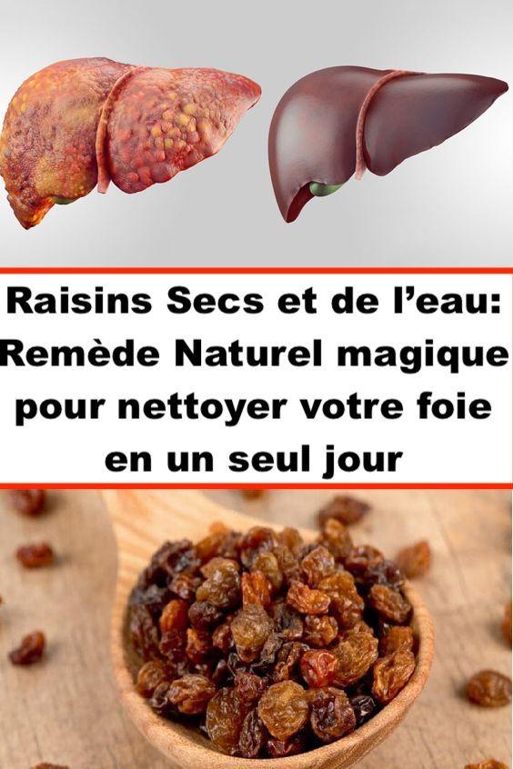 voici comment nettoyer votre foie naturellement en utilisant des raisins secs et de l eau la. Black Bedroom Furniture Sets. Home Design Ideas