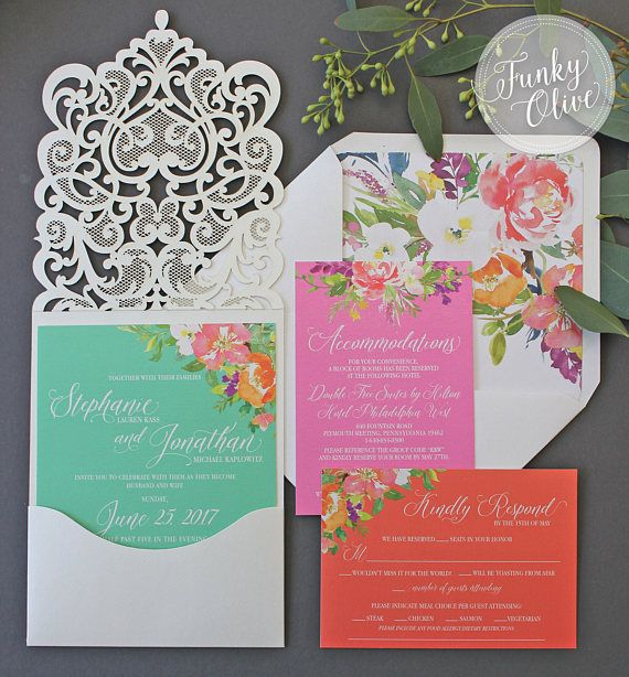 Best Wedding Invitation Packages Ideas On Pinterest