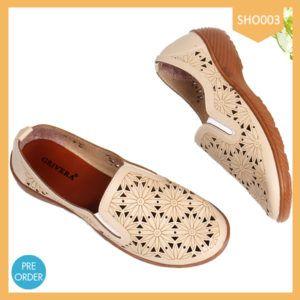 Shoes Women Kichkers Flower Berkualitas