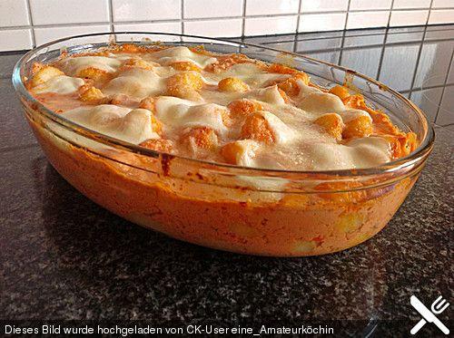 Gnocchi aus dem Ofen in Paprika - Tomaten - Sauce, ein tolles Rezept aus der Kategorie Gemüse. Bewertungen: 67. Durchschnitt: Ø 4,3.