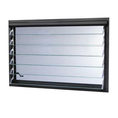 Jalousie Utility Louver Aluminum Window