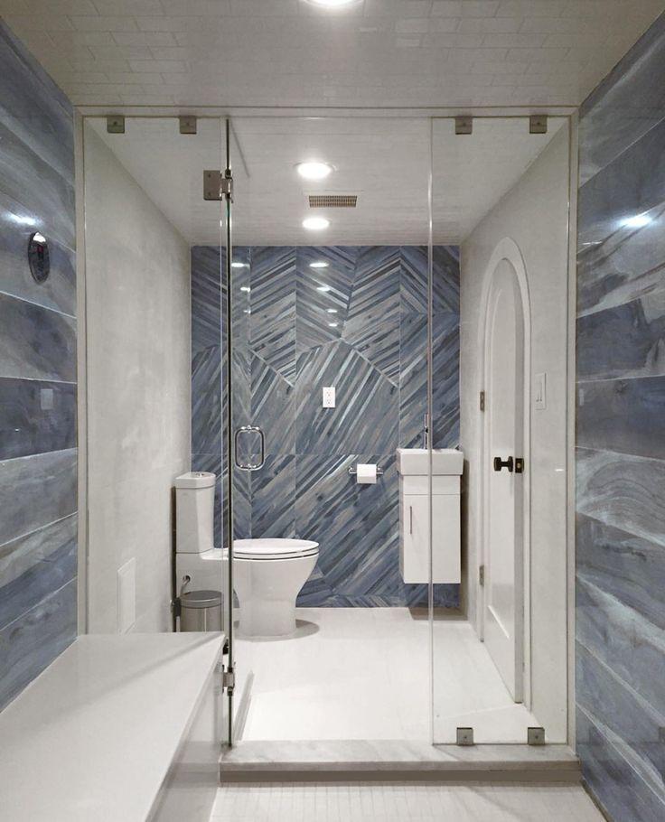 Brazilian Tiger Blue 8x48 Polished Porcelain Tile This