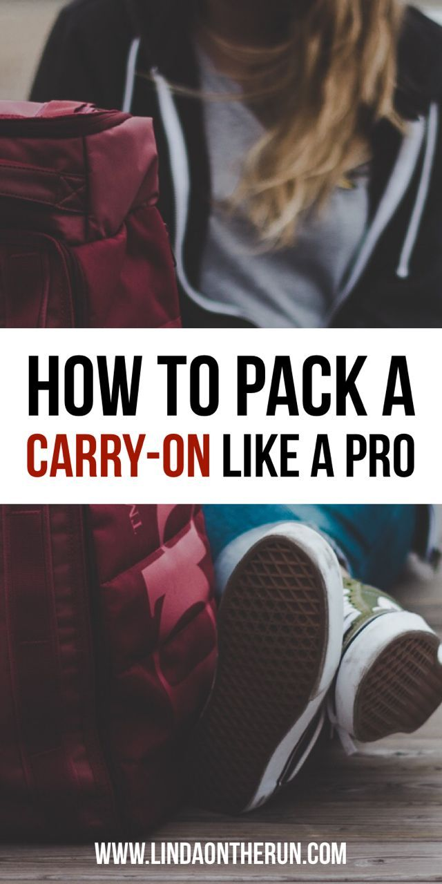 How To Pack Light On Your Next Trip Using Only A Carry-On