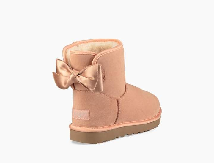 4ae47dc4390 UGG Classic Mini Satin Bow Boot | Products | Bow boots, Uggs, Ugg ...