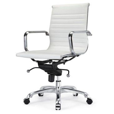 white modern office furniture. office chair in white modern task chairs meelano furniture k