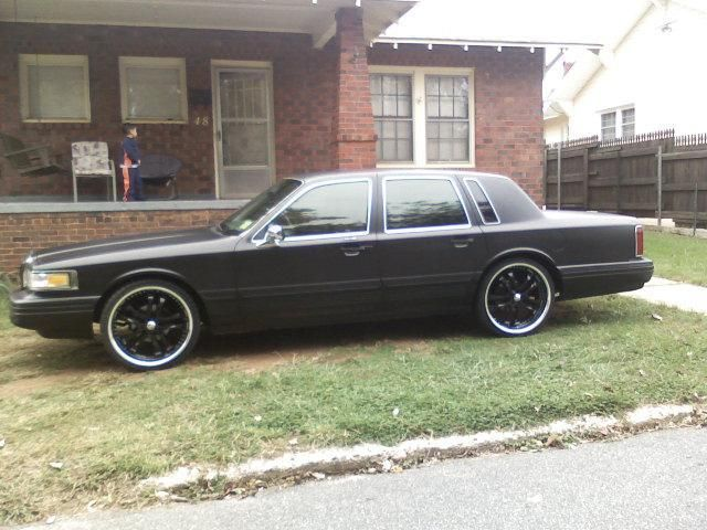 1995 Lincoln Town Car Cars Boats And Things That Move Me