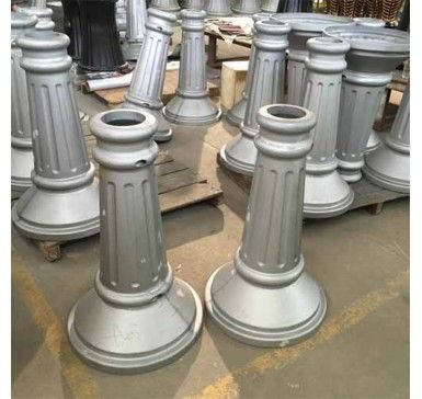 China Foundry Supply Cast Aluminum Pole For Outdoor Lighting