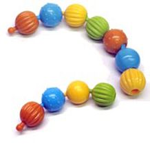 Textured Pop Beads are medium-sized, texturey pop beads that make a terrific fidget tool for skin pickers and other sensory seekers.