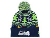 Find the Seattle Seahawks New Era Navy/LimeGreen New Era NFL Ugly Sweater Pom Knit & other NFL Gear at Lids.com. From fashion to fan styles, Lids.com has you covered with exclusive gear from your favorite teams.