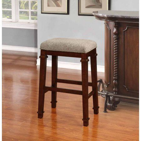 Linon Kennedy Backless Bar Stool Walnut Finish 30 inch Seat Height Brown & Best 25+ 30 inch bar stools ideas on Pinterest | 30 bar stools 26 ... islam-shia.org