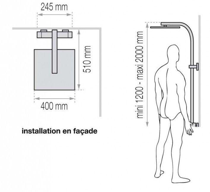les 11 meilleures images du tableau colonne de douche sur pinterest colonne de douche douches. Black Bedroom Furniture Sets. Home Design Ideas