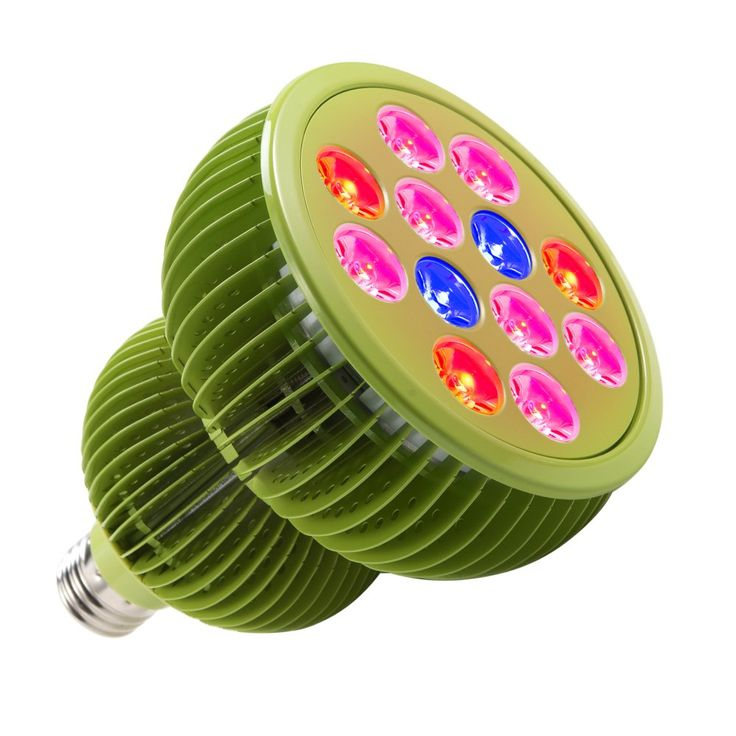 TaoTronics LED Grow Light Bulb, Grow Lights for Indoor Plants, Grow Lamp for Hydroponics, Organic Soil, Mini Greenhouse, Applicable to Grow Banana, Lemon etc. ( 36W, 3 Bands, FREE E26 Socket )