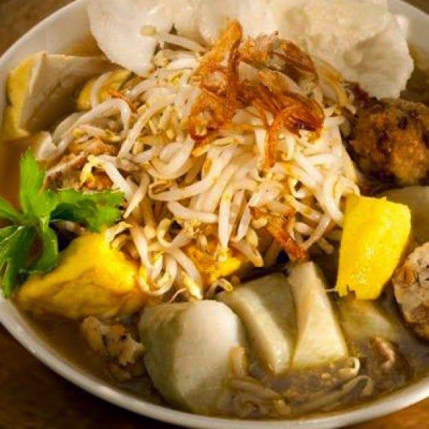Resep Membuat Lontong Mie Khas Jawa Timur Masakan Resep Masakan Makanan Dan Minuman