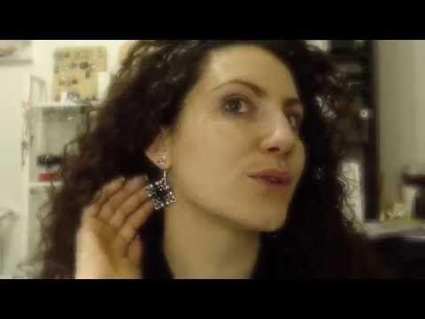 nuove creazioni orecchini fai da te e schemi perline - YouTube