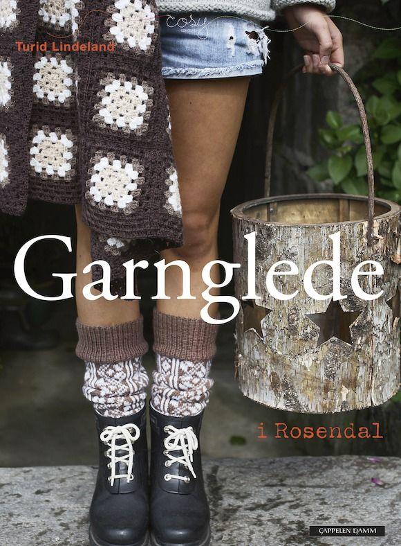 Turid Lindeland henter sin inspirasjon til denne boken fra et gammelt sokkemønster og et gammelt hotell fra 1887 i Rosendal! Se hva hun har laget: http://issuu.com/cappelendamm/docs/garnglede
