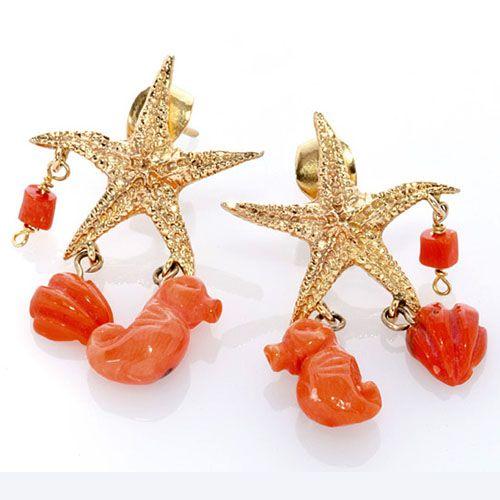 Gioielli in corallo del Mediterraneo unici: ecco la collezione 30°Miglio firmata Oro di Sciacca, ispirata al mare ed ai suoi abitanti