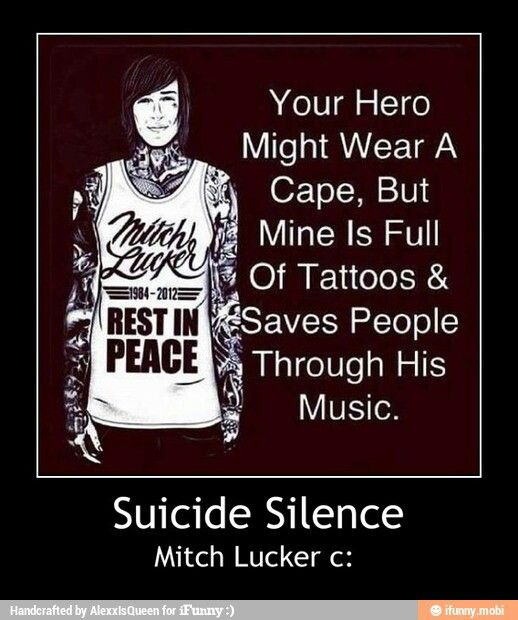 Suicide Silence Quotes: Best 25+ Mitch Lucker Ideas On Pinterest