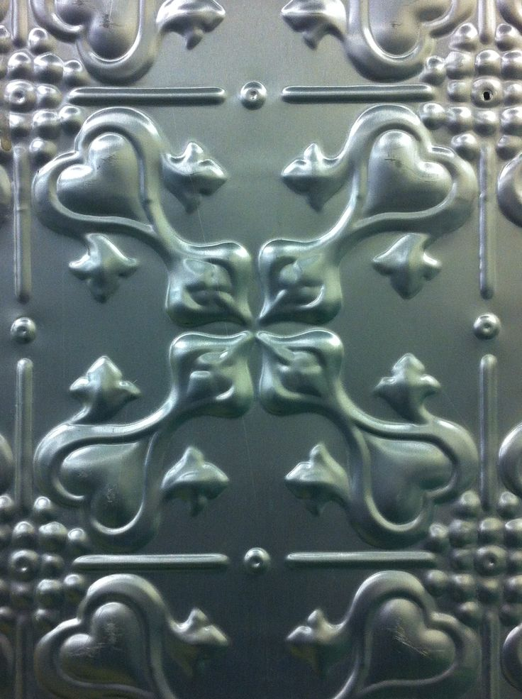 93 Best Images About The Pressed Metal House On Pinterest