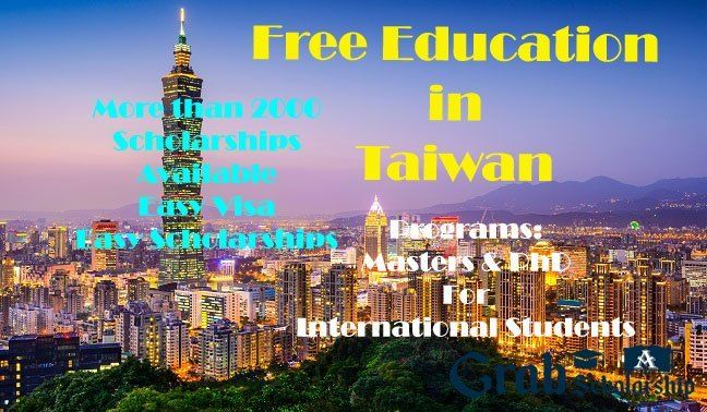 Free Education in Taiwan – 2000 Taiwan Scholarships for ...
