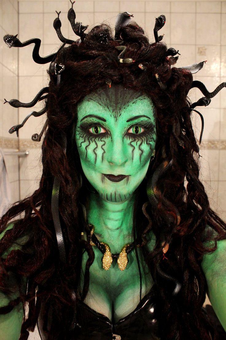 251 Best Images About Medusa Cosplay On Pinterest  sc 1 st  Meningrey & Medusa Costume Hair - Meningrey