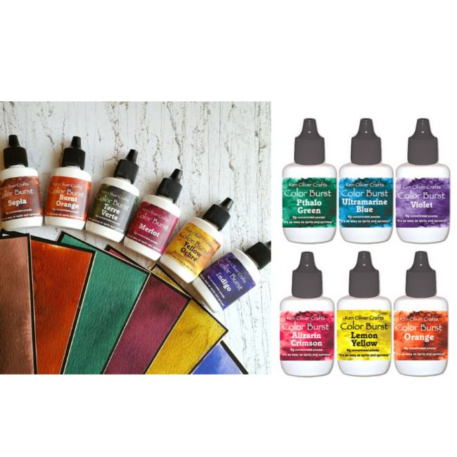 Nona Designs - Ken Oliver Color Burst Watercolors