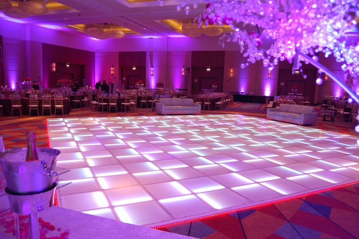 LED Dance Floors add an amazing feel to any venue and event.