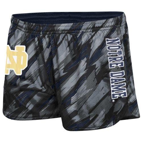 Notre Dame Fighting Irish Ladies Vision Shorts - Navy Blue