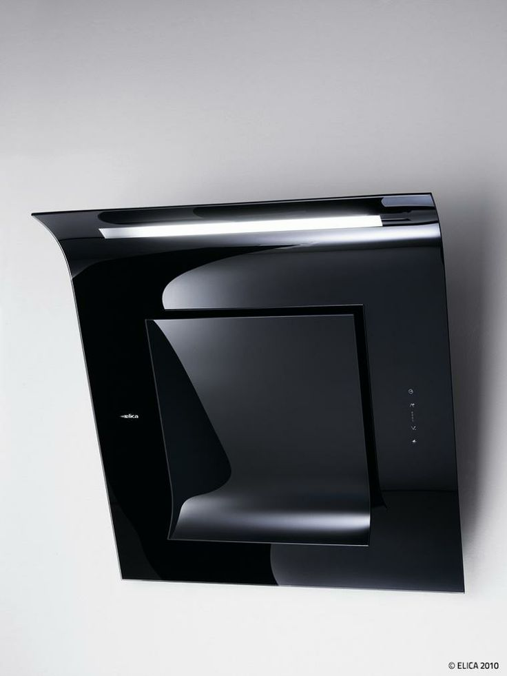 Elica Leaf Extractor Hood Contemporary Modern Kitchen