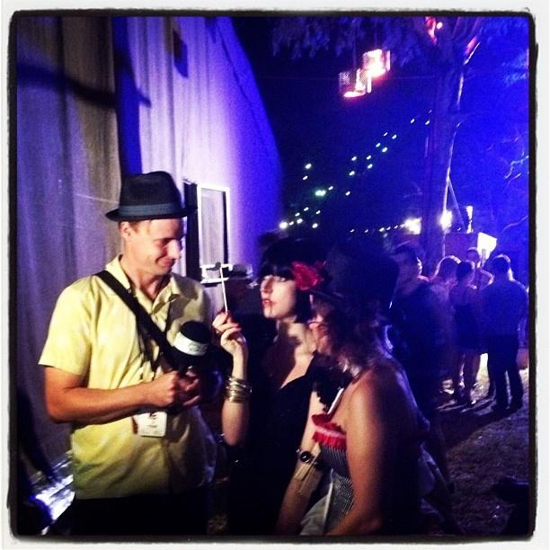 """@yaniism's photo: """"TalkFringeTV interview (I think) #adelaide #goud #adlfringe"""""""