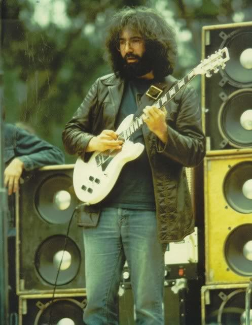 """Jerry Garcia (1942-1995) Was a member of the Grateful Dead for their thirty-year career.He was ranked 13th in Rolling Stone's """"100 Greatest Guitarists of All Time"""""""