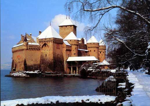 Also from Miriam. Chateau de Chillon Castle Montreux Switzerland winter