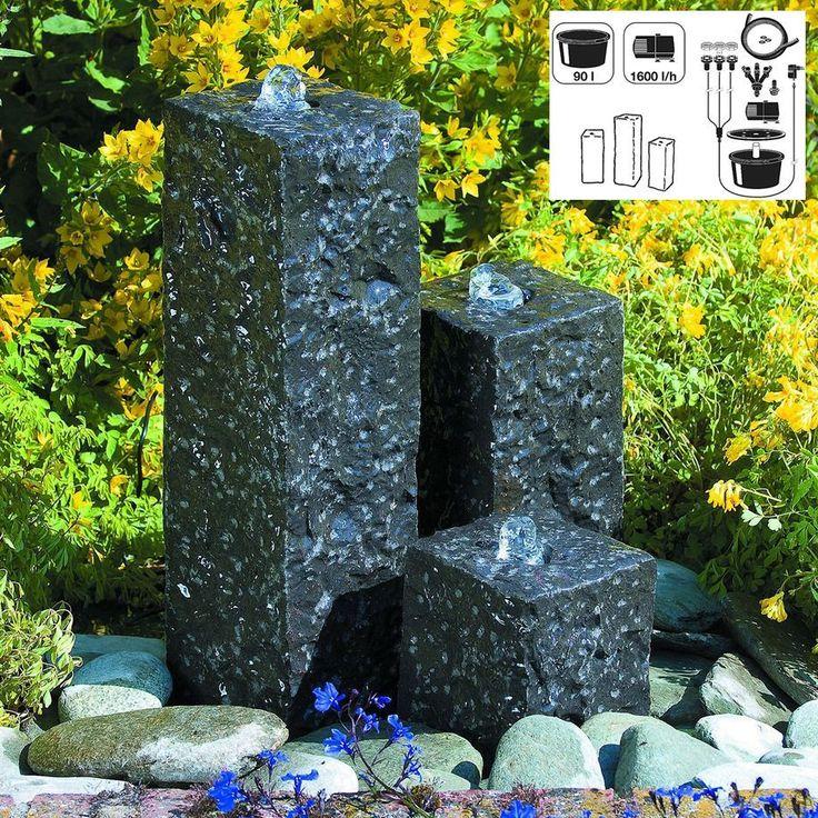 die besten 25 gartenbrunnen granit ideen auf pinterest. Black Bedroom Furniture Sets. Home Design Ideas
