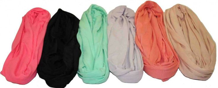 Solid Cotton Infinity , $4.00   I WANT THEM ALL!!!!!