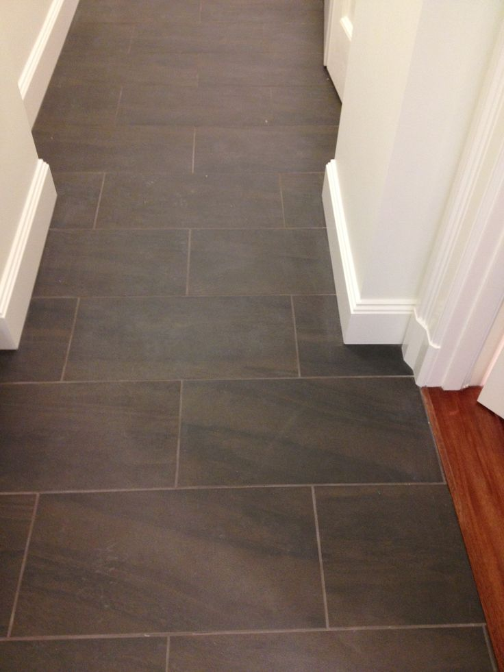 Over scaled slate floors - for kitchen and hallway