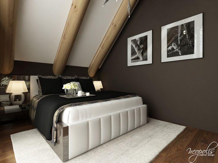 Glamour spálňa čierna