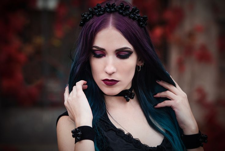 H037 - Deadra - Unit Foto  - for GA (2) #fashion #style #gothic #gothgoth #headpiece #velvet #choker #gothicgirl #blackdress #dress #black #sinister #sinister_gothic #black #goth