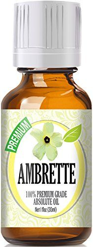 Ambrette (30ml) 100% Pure, Best Therapeutic Grade Essential Oil - 30ml / 1 (oz) Ounces * Additional details at the pin image, click it  : ginger essential oil