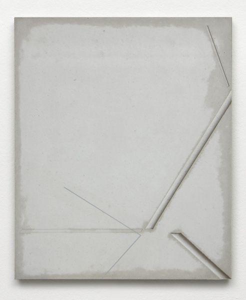 Jugoslav Mitevski  spray paint on concrete, 51 x 62 x 1,4 cm, 2016
