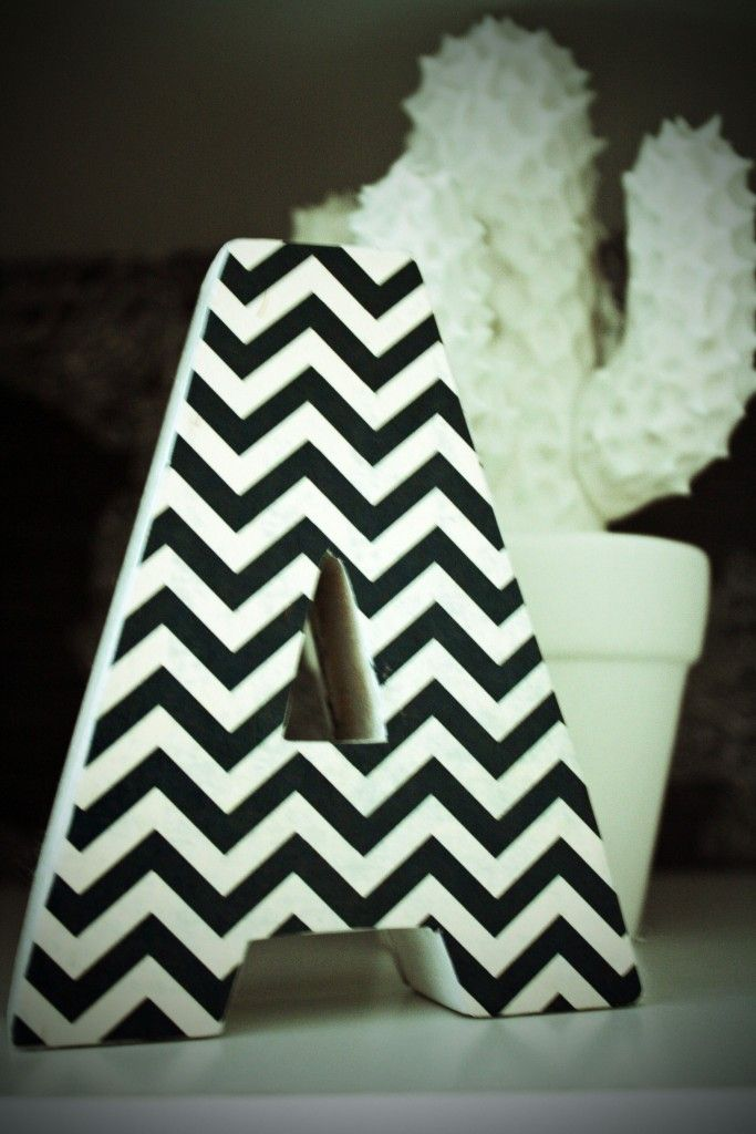 The 25 best chevron letter ideas on pinterest living for Living room 7 letters