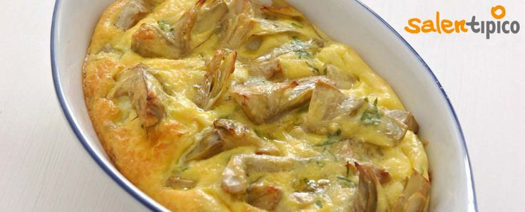 Oggi vediamo insieme una squisita e succulenta tipica ricetta Salentina.   I Carciofi con Uova e Pepe   INGREDIENTI: - 6 Carciofi - 1 Limone - 1 Spicchio d'aglio - Q.b. Olio d'oliva, Prezzemolo tritato, Sale, Pepe nero - 3 Uova intere - Q.b. Pecorino grattugiato
