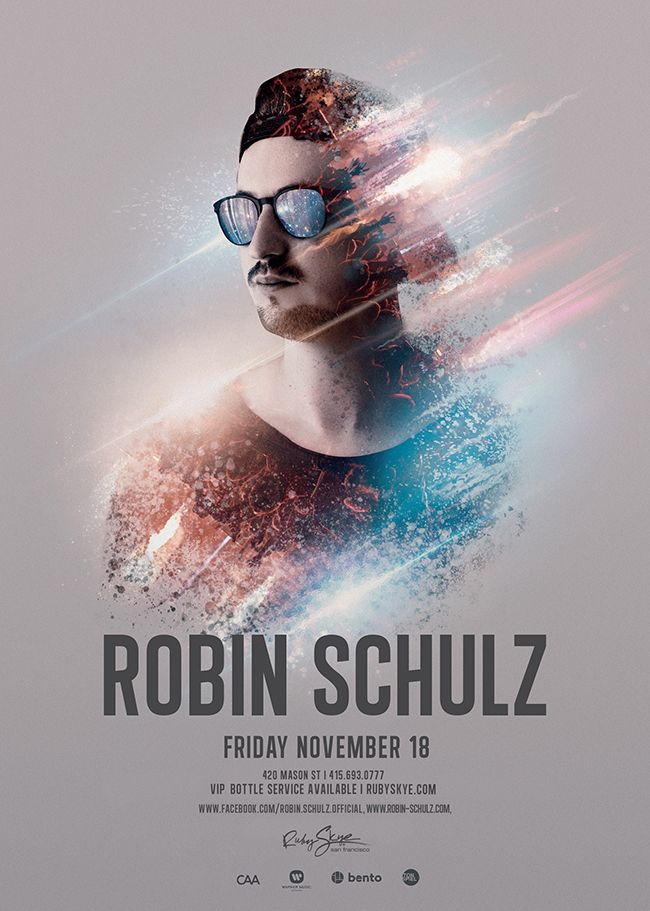 German electronic DJ Robin Schulz at Ruby Skye on Friday November 18. Yep, we have freebies.