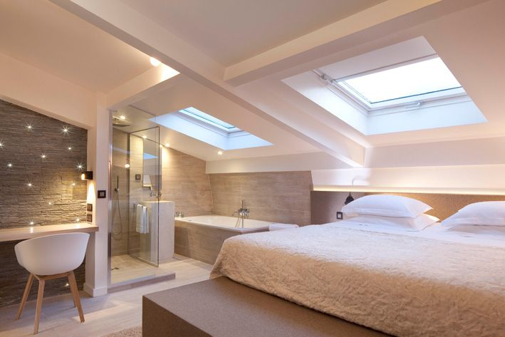 A l'hôtel Georgette, situé à Paris près de Beaubourg, les chambres ont chacune des personnalités très affirmées, notamment la chambre Land A...
