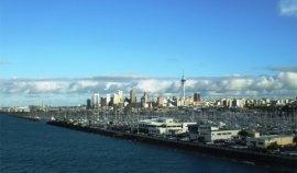 Auckland depuis le port