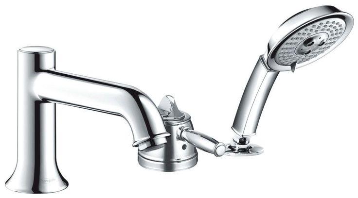 Talis C Single Handle Roman Tub Faucet Trim with Hand Shower