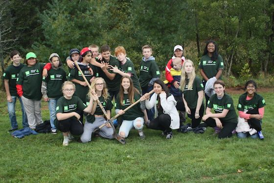Charlottetown hosted a tree planting and educational event for local students